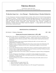 resume warehouse manager template management resume format