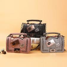 Women Chains Messenger Bags <b>2017 New</b> Vintage Bag Ladies ...