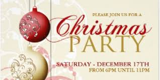 Image result for elegant christmas party invite images