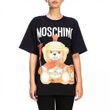 <b>Футболка</b> Moschino Couture <b>oversize</b> с короткими рукавами и с ...