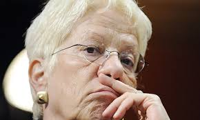 Carla Del Ponte, die frühere Chefanklägerin des Haager UNO-Kriegsverbrecher- Tribunals und erklärtes ... - ponte20080404160329