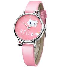 KDM <b>Cute</b> Girl Watch <b>Cartoon</b> Cat Child <b>Watches Kids</b> Waterproof ...