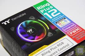 Обзор комплекта <b>вентиляторов Thermaltake Riing</b> Plus 12 LED ...