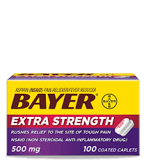 Bayer <b>Extra Strength</b> Aspirin | Bayer Aspirin