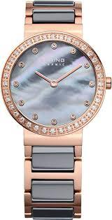 Купить Женские <b>часы Bering</b> Classic <b>10729-769</b> | Наручные <b>часы</b> ...