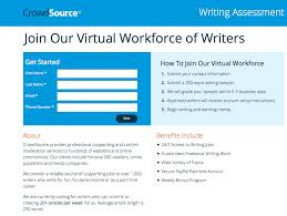crowdsource com review the lance writer guide crowdsource com writing test page