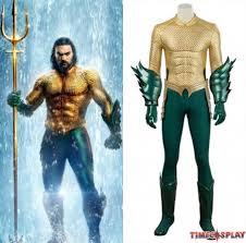 Movie <b>Aquaman Costume Arthur Curry Cosplay Costume</b>