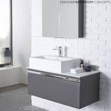 rhodes pursuit mm bathroom vanity unit: the pursuit designer charcoal elm mm bathroom vanity unit from roper rhodes is a high quality