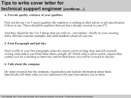 cover letter technical support  seangarrette cotechnical support engineer cover letter