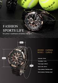 Curren <b>2016</b> CURREN Tag Brand Fashion <b>Men</b> Sport Analog ...