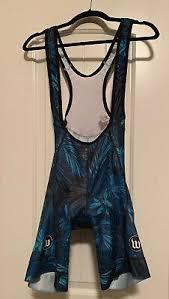 <b>Wattie Ink</b> Bib Shorts Hit Squad women's size large New blue cycle ...