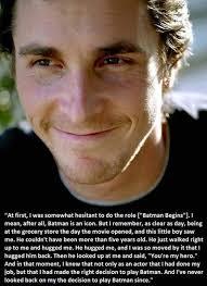 Christian Bale quotes. Batman. Dark Knight | BugzBoard | Pinterest