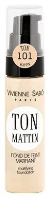 Vivienne Sabo <b>Тональный крем</b> Ton Mattin <b>матирующий</b> — купить ...