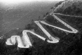 Image result for picture of a sharp bend in the road