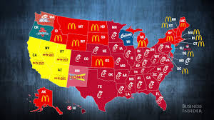 most popular fast food restaurants in every state most popular fast food restaurants in every state