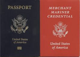 Image result for Image of a U.S. Coast GUard issued Merchant MArine Officer's License