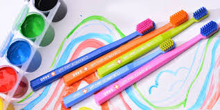 <b>Набор зубных щеток</b> ultrasoft, d 0,10 мм (2 шт.) RainBow