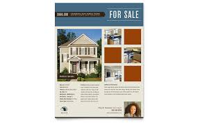 real estate flyers  templates amp designs residential realtor flyer template