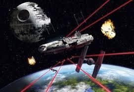<b>Фотообои Komar STAR WARS</b> Millennium Falcon 8-489 – купить ...