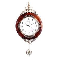Antique <b>Wooden Wall</b> Clocks Pendulum Decor Silent Quartz ...