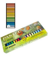 <b>Пастель</b> художественная, <b>Аква Колор</b>, 16 цветов (сухая ...