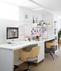 when redesigning her basement home office designer sarah hartill opted to install built ins basement home office ideas