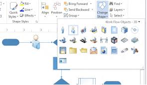create professional diagrams quickly with the new visio   office blogschange shape