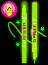 Светящаяся <b>подводка</b>-<b>штамп</b> UVglow Neon / 702 Green star