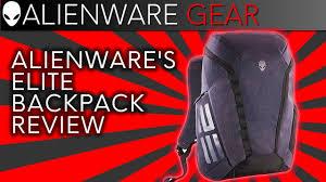 "<b>Alienware's</b> 15/17"" Elite <b>Laptop Backpack</b> Review w/ Ernie - YouTube"
