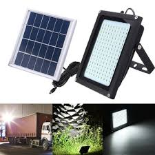 8w <b>solar power 150 led</b> motion sensor flood light waterproof <b>outdoor</b> ...