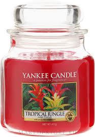 Yankee Candle <b>Tropical Jungle</b> - <b>Ароматическая свеча</b> в банке ...