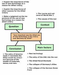 bbc   higher bitesize history   essay writing   revision  page a spider diagram of a history essay plan  the question is  quot how important was