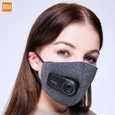 Xiaomi <b>Purely Anti Pollution Air</b> Sport Mask with PM2.5 550mAh ...
