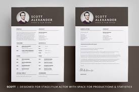 film actor resume template actors resume template word