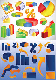 business charts and diagrams vector   vector graphics blogbusiness charts and diagrams vector
