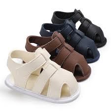 ideacherry Summer <b>Baby Shoes Newborn</b> Boys PU <b>Leather</b> First ...
