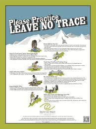 posters leave no trace