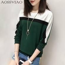 Женская <b>футболка</b> с длинным рукавом AOSSVIAO, свободная ...