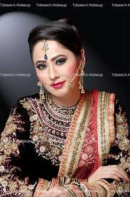 cly bridal makeup with arabian eyes and luscious pink lips professional bridal makeup hair services for your trial and further package q