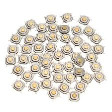 150Pcs DC12V 4 Pins Tact Tactile Push Button Switch ... - Qoo10