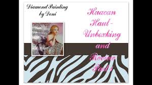 <b>Diamond</b> Painting First Impressions - <b>Huacan</b> Haul # 7 Part 1 ...