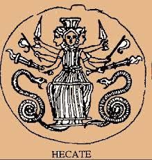 Resultado de imagen para hecate y la señora de las serpientes