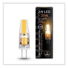 Светодиодная <b>лампа Gauss LED G4</b> 12V 2W 2700K — купить в ...