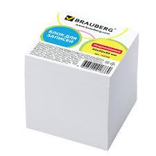 <b>Блок для записей BRAUBERG</b>, непроклеенный, куб 9х9х9 см ...