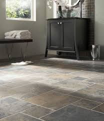 kitchen floor tiles small space: slate floorkeeping that same tile in the bathroom just smaller squares