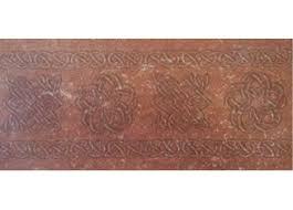 <b>Декор подступенник BROWN</b> 15X33 - Уют Керамика
