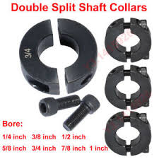 Couplings, Collars & Universal Joiners <b>Double Split</b> Shaft Collar ...