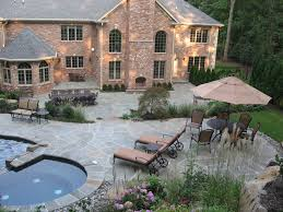 pools and patio