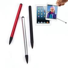 Hot <b>1Pcs Universal</b> 2 in 1 Capacitive Resistive Pen Touch Screen ...