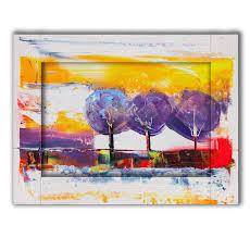 <b>Картина с арт рамой</b> Три дерева 60 х 80 см - купить по низкой ...